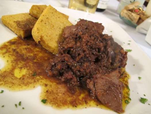 Florence typical food: Cinghiale in umido