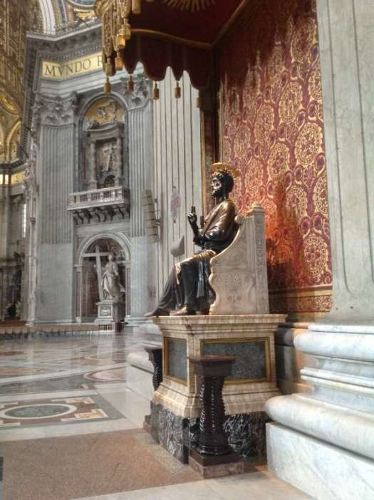 St Peter Dome _St Peter statue