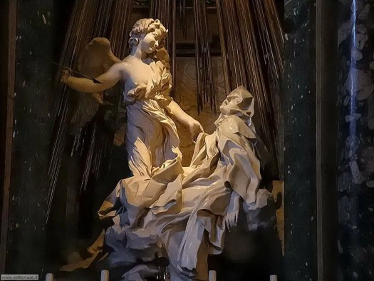 Visit Rome_Santa Maria della Vittoria-santa teresa ecstasi