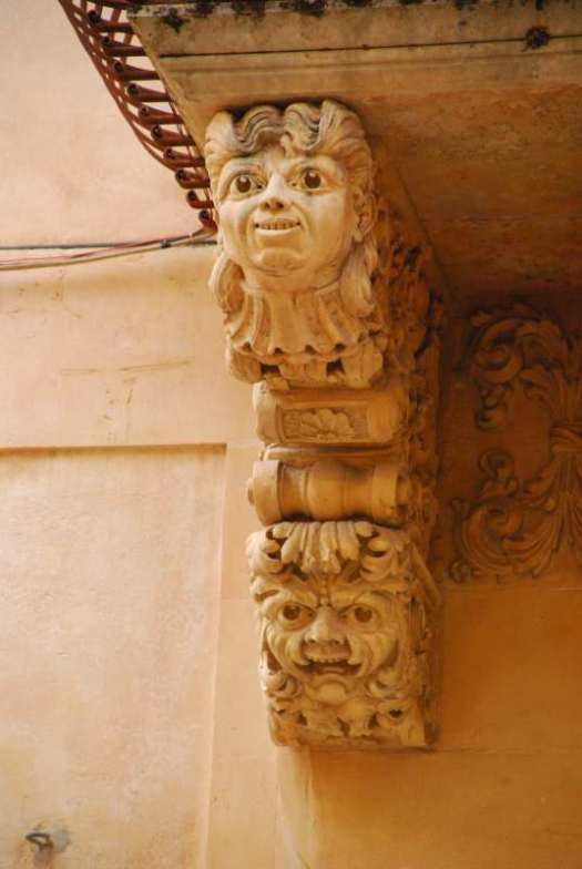 Noto Sicily_Architectural detail
