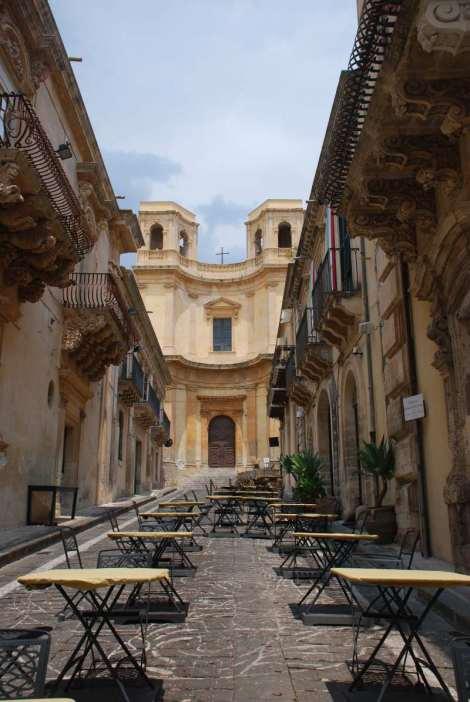 Noto Sicily-street