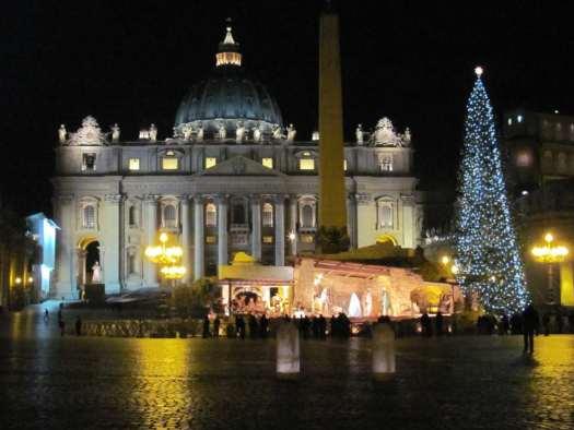 Nativity scenes_Italy_Nativity scene in St Peter's square