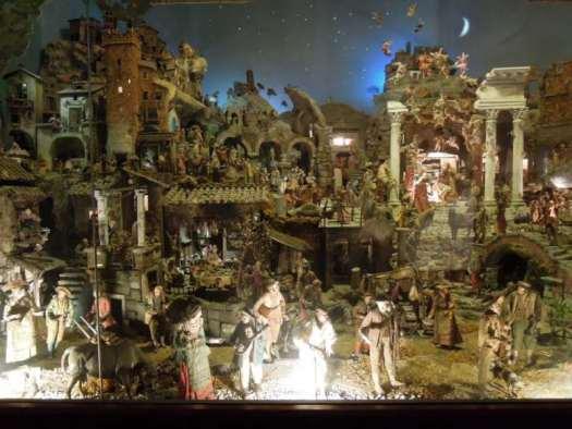 Nativity scenes_Italy_Nativity scene in St Cosma e Damiano