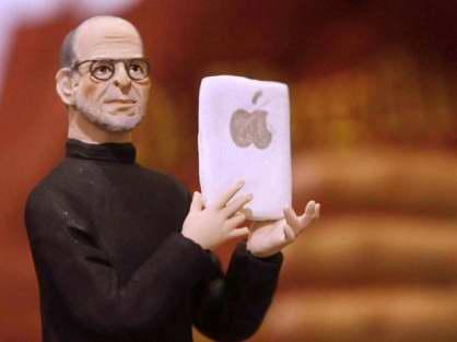 Nativity scenes_Italy_San Gregorio Armeno - Steve Jobs