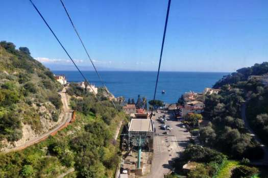 Taormina in one day - cable car