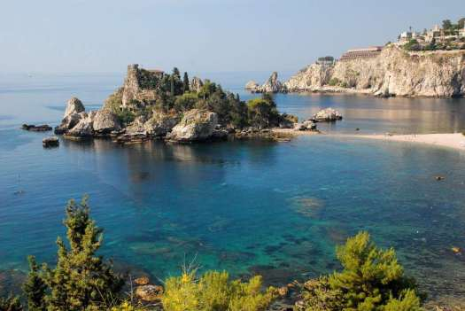 Taormina in one day - the Isola Bella