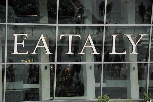 Eataly brand new cristal facade