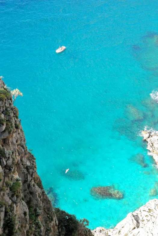 Capri walking itinerary - Capri sea
