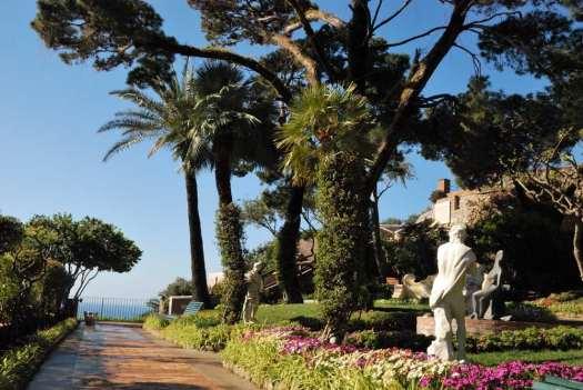 Capri walking itinerary - capri Giardini di Augusto