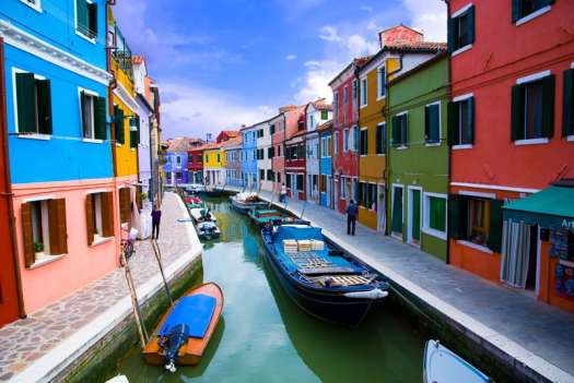 Top things to do in Venice - discover Burano and the lagoon islands