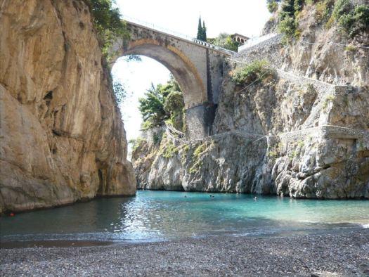 Amalfi coast Italy_furore fjord