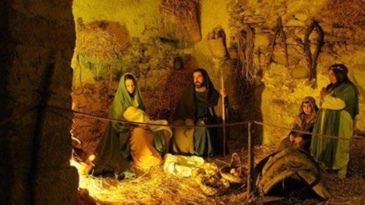 Greccio Living Nativity scene