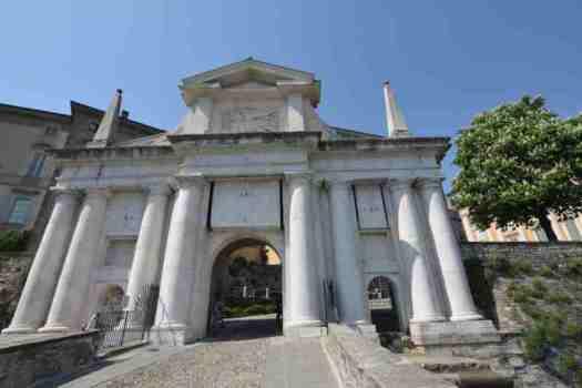 Bergamo in one day - porta San Giacomo