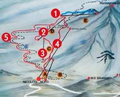 Etna sky slopes - credits rifugio Nicolosi