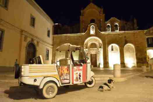 What to do in Matera: Tuk Tuk taxi