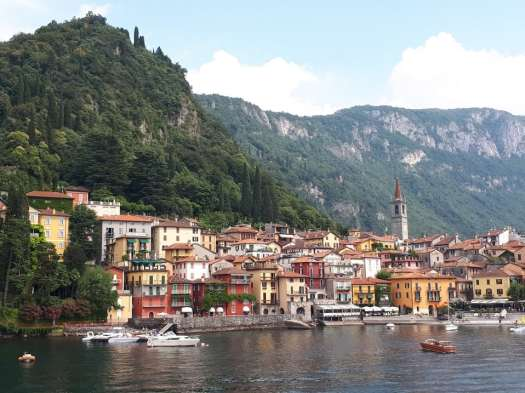 Varenna view from the lake