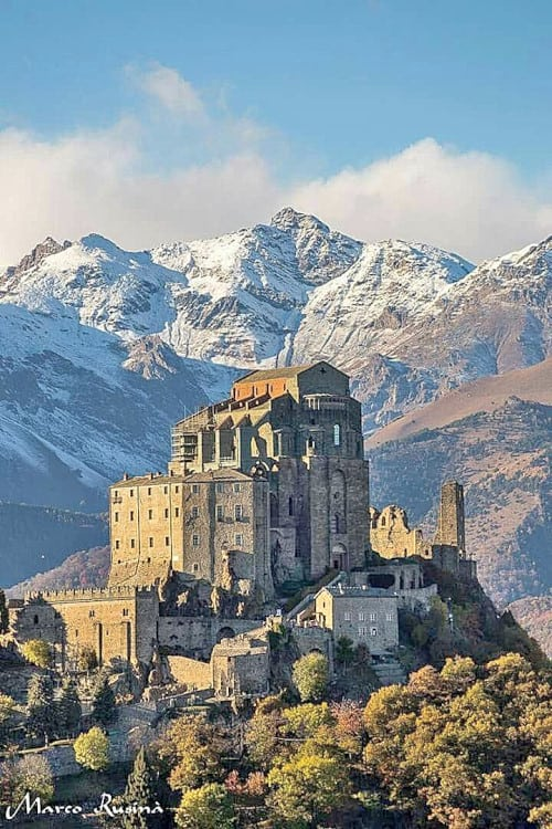 The Sacra di San Michele: legends and mysteries