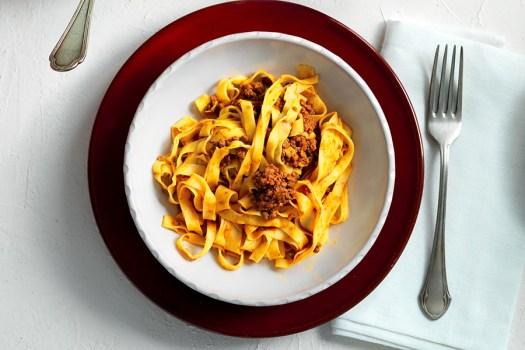 Italian pasta dishes - Tagliatelle al ragù