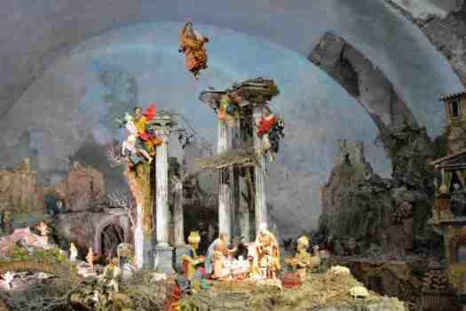 Naples in one day walking itinerary - XVIII century nativity scene in San Gregorio Armeno