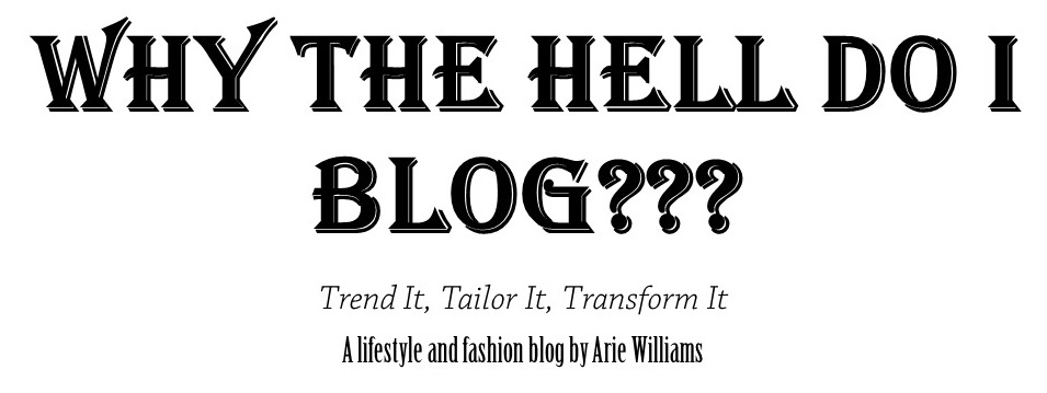 Why Do I Blog???