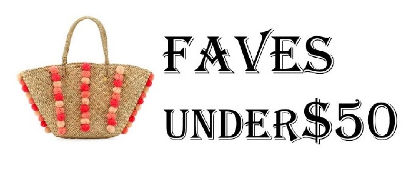 Faves Under 50 Logo