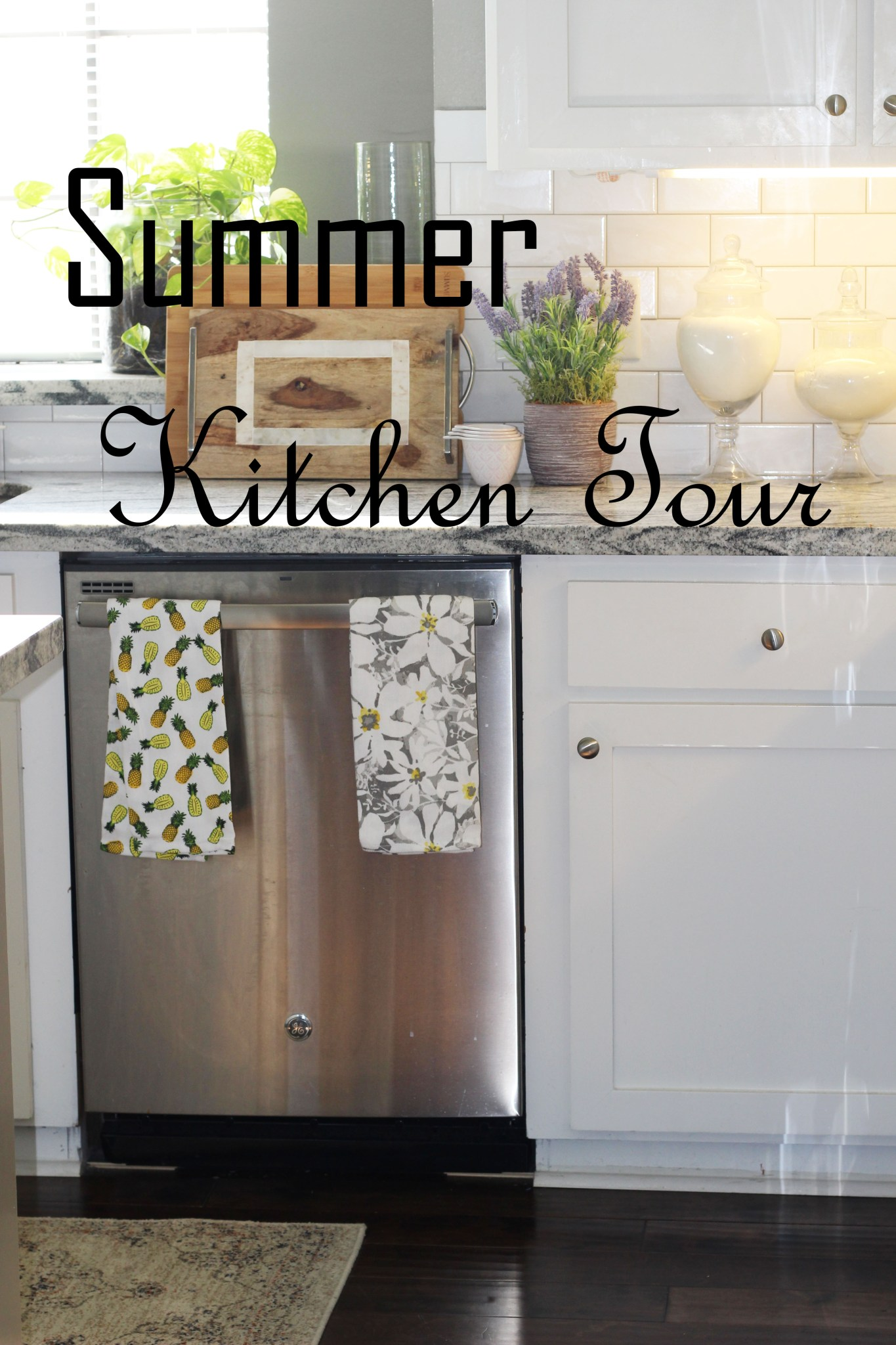 Summer Kitchen Tour….
