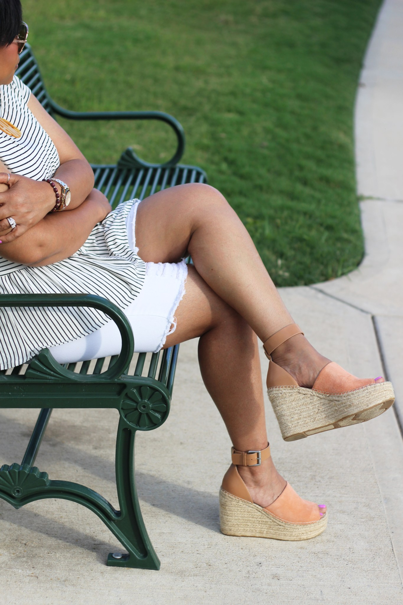 Stripes and Espadrilles…
