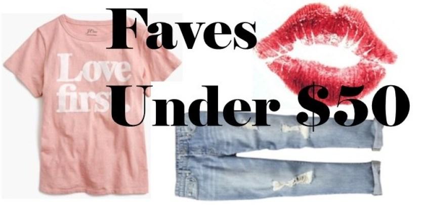 Valentine Faves Under $50