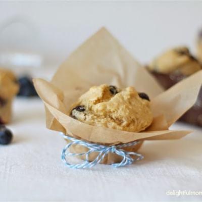 Santa Barbara Blueberry Picking + Low Fat Almond Flour Blueberry Muffins