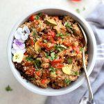 Slow Cooker Tex-Mex Quinoa Recipe