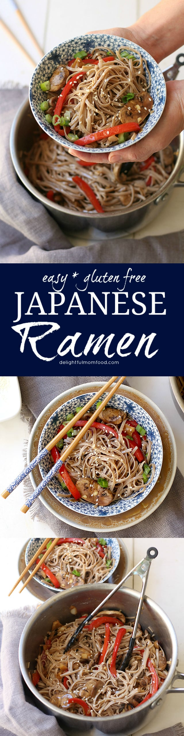 Healthy Gluten Free Japanese Ramen Noodles Recipe