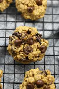 Healthy Oatmeal Chocolate Chip Cookie Recipe | Delightful Mom Food