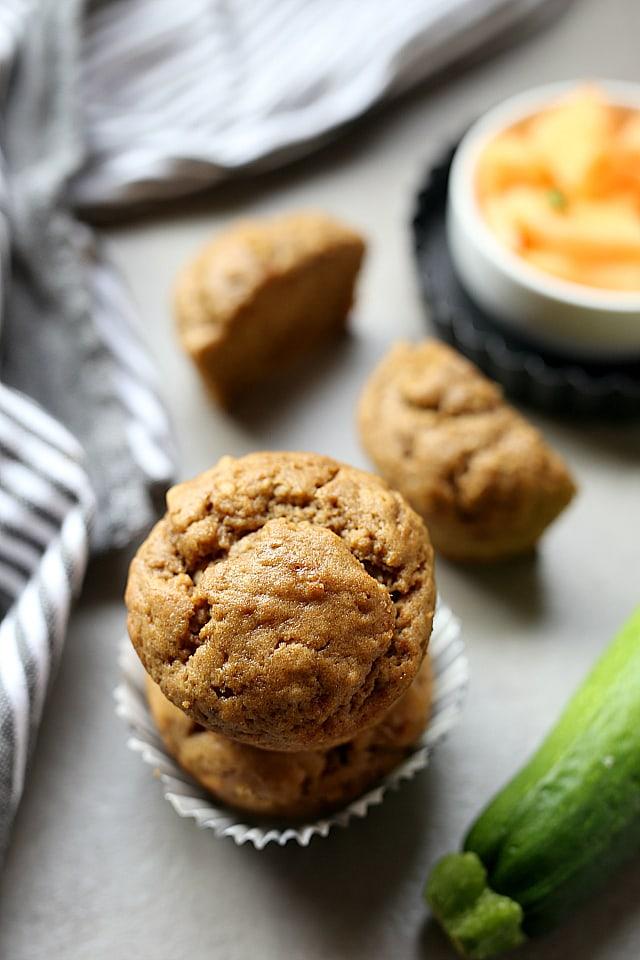 Banana Zucchini Muffin Recipe