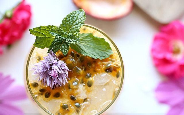 Passion Fruit Cocktail + 20 Passion Fruit Recipes