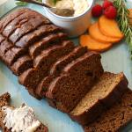 Butternut Squash Flax Bread (Gluten-Free, Dairy-Free)