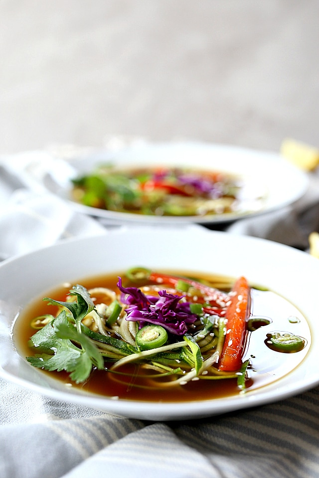 asian vegetable soup recipe