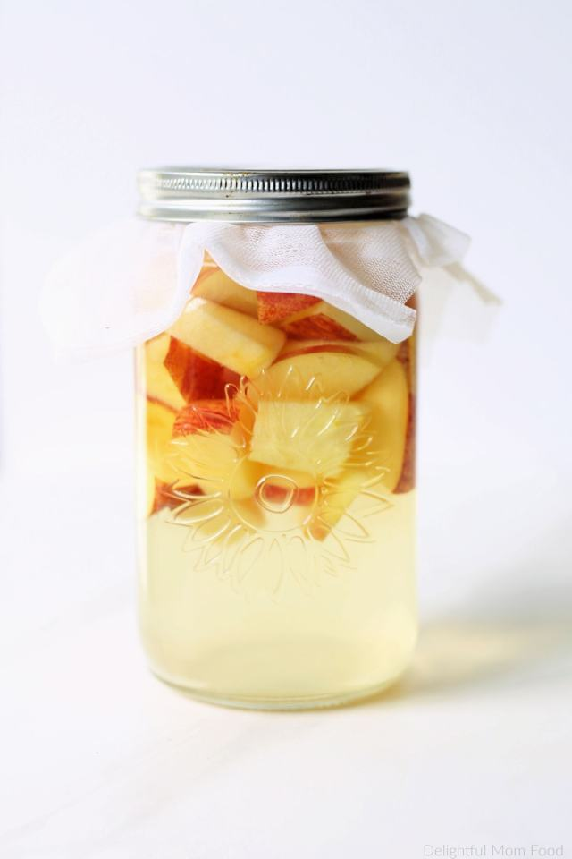 Apple Cider To Vinegar 17: How To Make Apple Cider Vinegar (ACV)