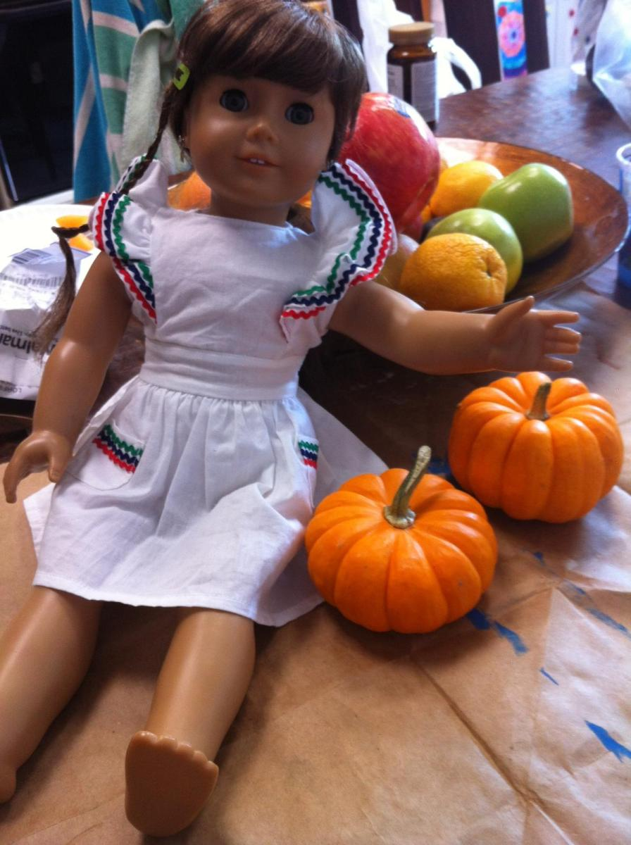 Painted Pumpkin 2