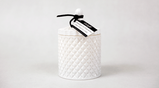 Deluxe White Jar Soy Candles
