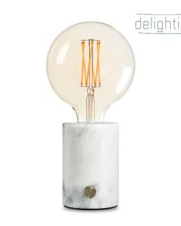dimbare tafellamp marmer inclusief led lamp