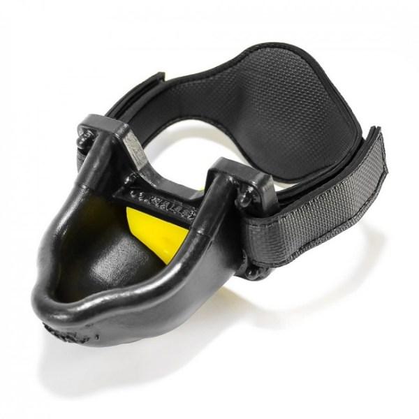 Oxballs Urinal Strap on Gag Black/Yellow
