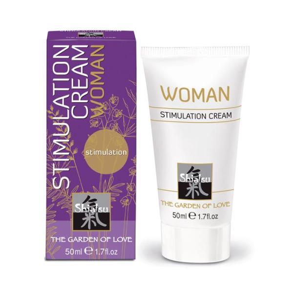 Shiatsu Stimulation Cream Woman