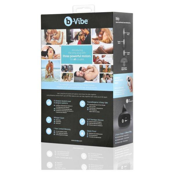 b-Vibe Trio Plug Black6