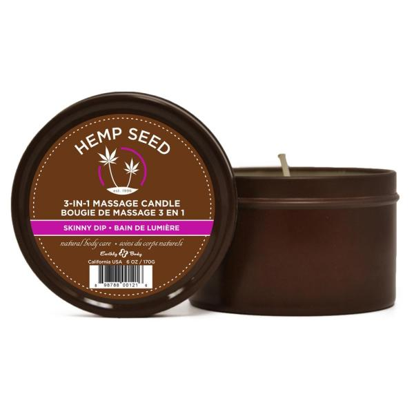 Earthly Body Skinny Dip Round Candle | Sex Lubricants