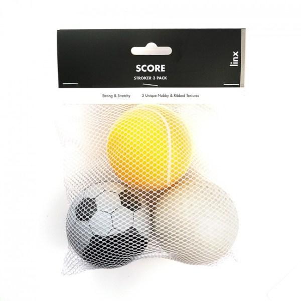 Linx Stroker Ball Three-Pack