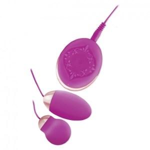Nasstoys Bela Dual Vibrating Bullets Purple 1.5in