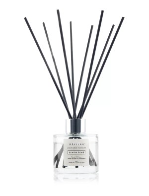 Luxury Bergamot & Amber Reed Diffuser by Delilah Chloe home fragrance