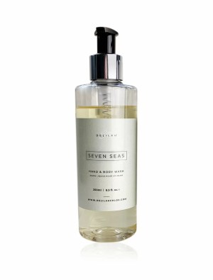 Seven Seas Hand Wash by Delilah Chloe, luxury bath & body toiletries