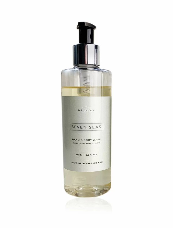 Seven Seas Hand Wash by Delilah Chloe, luxury bath & body toiletries