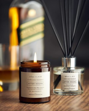 After Hours Candle and Reed Diffuser set by Delilah Chloe